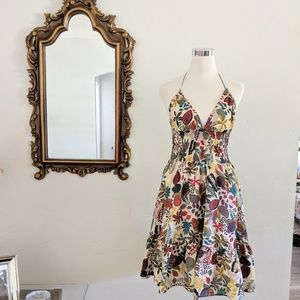 Tropical Print Sundress NWT